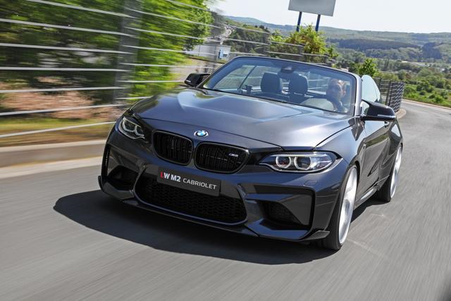 Tuning: BMW M2 als Cabriolet - 300-km/h-Frischlüfter