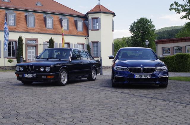 Impression: BMW M535i trifft M550i xDrive - Aus sechs wird acht