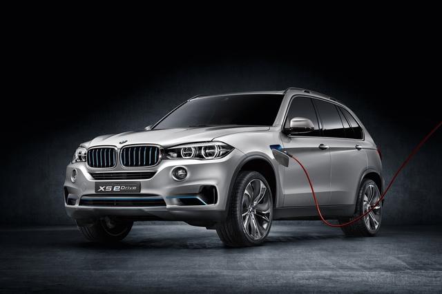 BMW Concept X5 eDrive - BMWs Größter spart