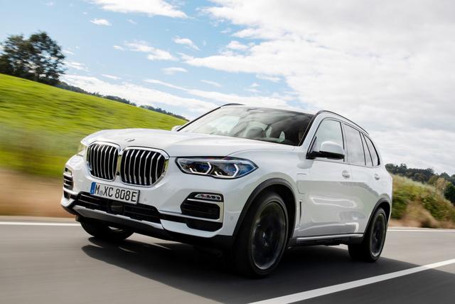 BMW X5 Plug-in-Hybrid - Elektrisch weiter