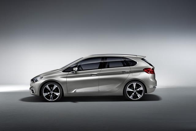 BMW Concept Active Tourer - Familienfreundlicher Tabubruch