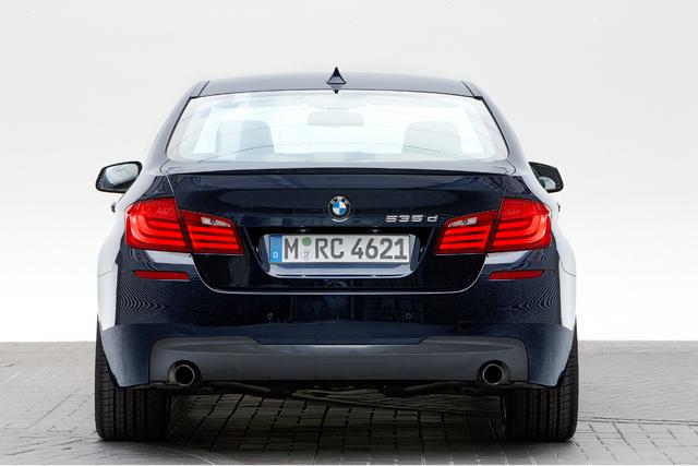 BMW 5er mit Allrad und neuem Dieselmotor