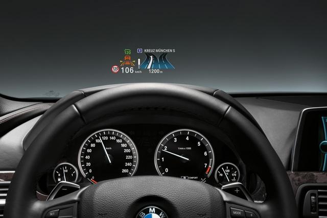 BMW 3er - Head-up-Display als Option