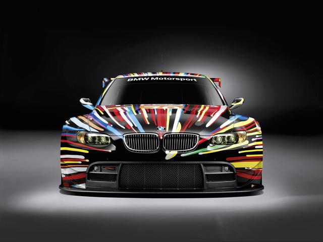 BMW M3-Rennwagen als Design-Objekt