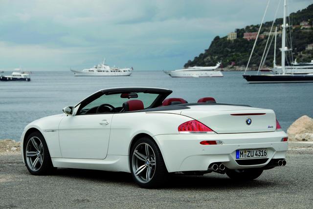 BMW M6 - Ende einer Geschwindigkeitsfahrt