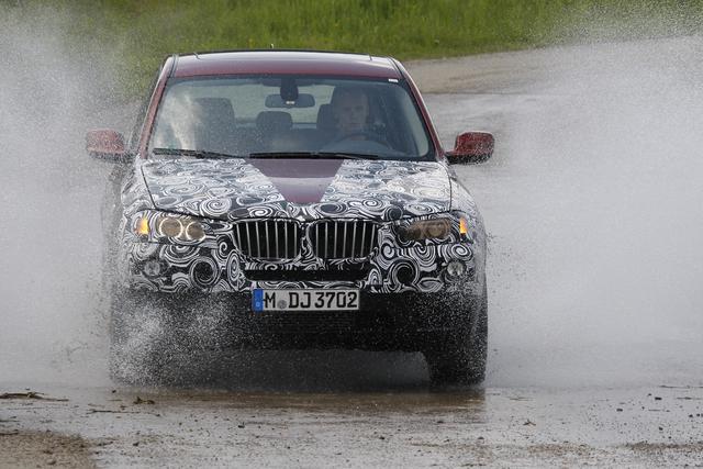 BMW X3: Mister X läuft sich warm