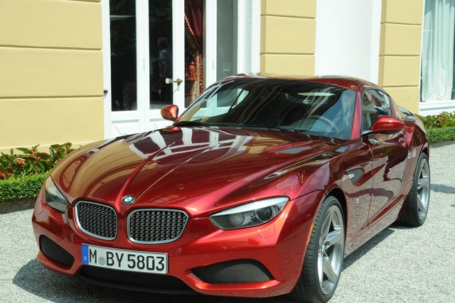 BMW Zagato Coupé - Inspiration von außen