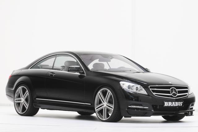 Brabus Mercedes Tuning - CL und S 500 mit mehr Druck