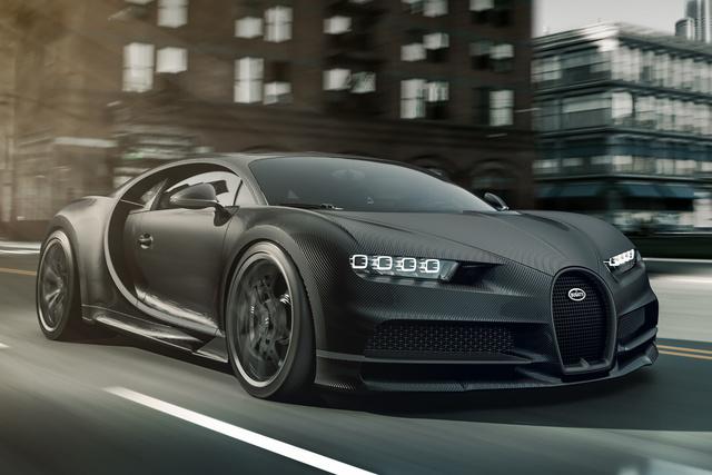 """Bugatti """"Chiron Noire"""" - Back in Black"""