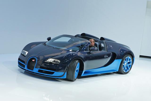 Bugatti Veyron 16.4 Grand Sport Vitesse - Das Zwei-Millionen-Euro-Cabrio