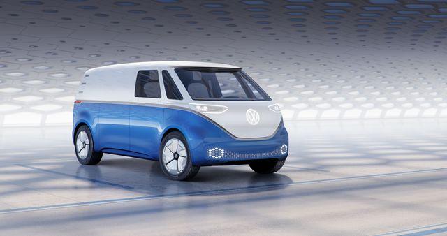 Ausblick Volkswagen-Nutzfahrzeuge - Caddy bis Crafter unter Strom