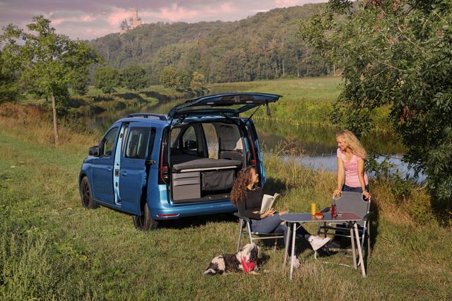 VW Caddy California  - Minimalismus ist Trumpf