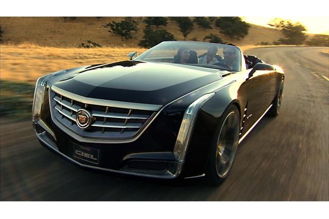 Cadillac Ciel Concept - California cruising