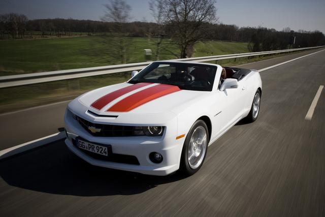 Panorama: Chevrolet Camaro Cabrio - Ganz schön auffällig