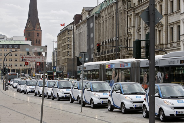 Modernes Carsharing - Mieten statt Kaufen