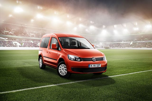 VW Caddy Sondermodell Soccer - Preiswert im WM-Fieber