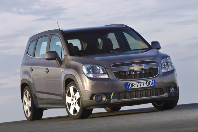 chevrolet orlando kleiner turbo f r den siebensitzer. Black Bedroom Furniture Sets. Home Design Ideas