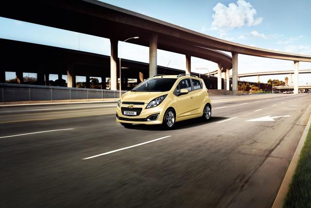 Chevrolet Spark - Facelift für den frechen Funken