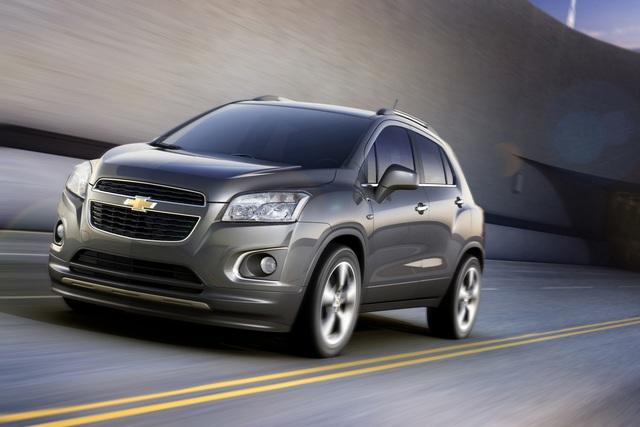 Chevrolet Trax - Mokkas bullige Verwandtschaft