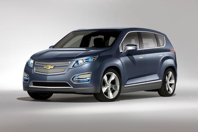 Chevrolet Volt MPV5: Der Familien-Elektriker