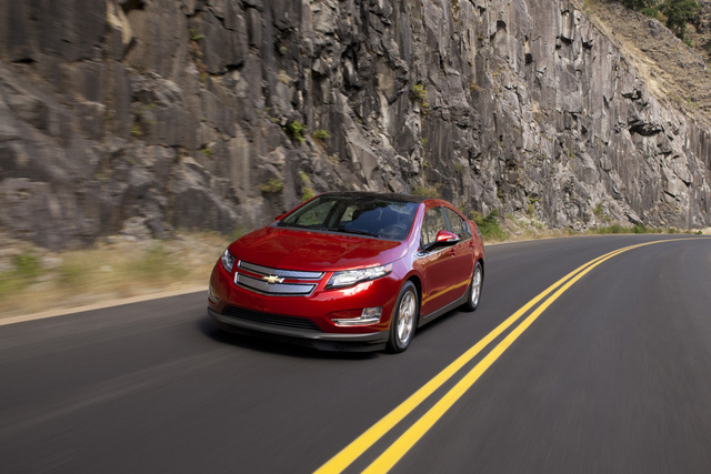 Elektroauto Chevrolet Volt - Doch noch ein Hybrid?