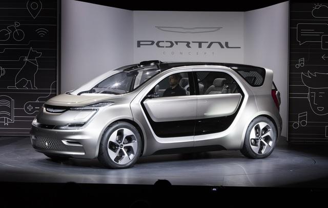 Chrysler Portal Concept - Randvoll mit Zukunft