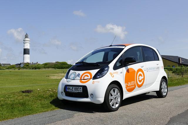 Citroen C-Zero und Berlingo First Electric - Sylt wird grün