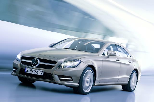 Mercedes CLS 4Matic - Auf allen vieren