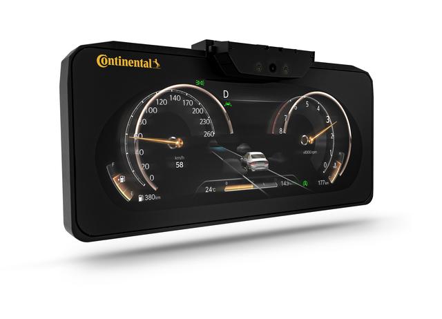 Continental: Dreidimensionales Display im Serieneinsatz  - Da guckst Du