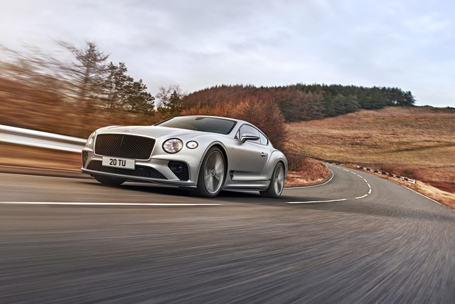 Bentley Continental GT Speed - Luxus-Leistung