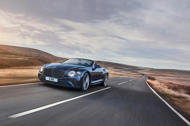 Bentley Continental GT Speed Convertible - Nach oben offen – in jeder Beziehung