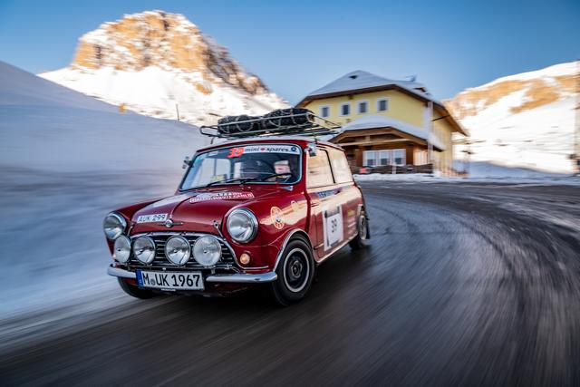 Panorama: Im Mini bei der Coppa delle Alpi  - Gipfelsturm im Bobbycar