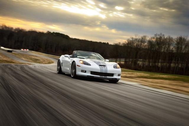 Corvette 427 Convertible Collectors Edition - Zum Abschied ein Geburtstagsgeschenk