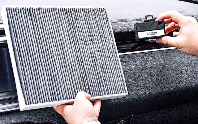 Neuer Luftinnenraumfilter von Hyundai  - Weniger Feinstaub im Auto