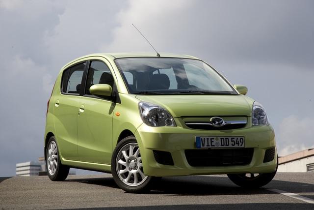 Daihatsu Sondermodelle Cuore und Sirion - Abschied mit günstigen Preisen