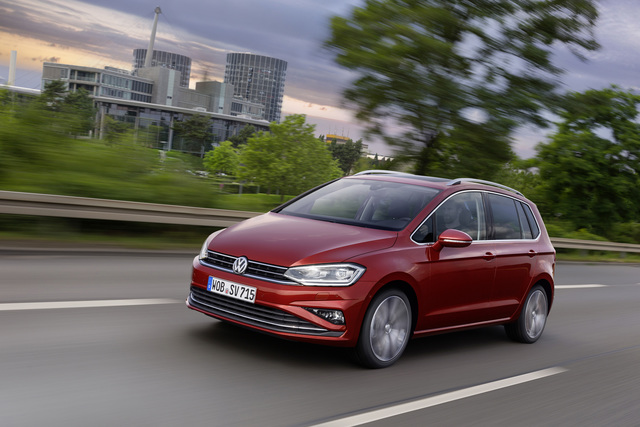 VW Golf Sportsvan - Nun serienmäßig mit Navi