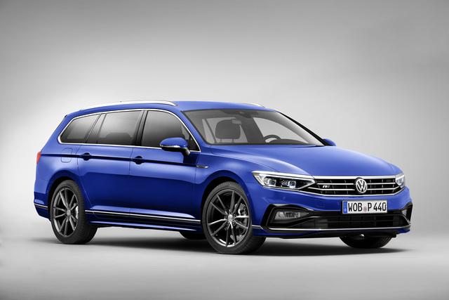VW Passat Facelift - Update für Deutschlands Dienstwagen Nummer eins