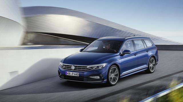 Lifting für VW Passat - Er bleibt sich treu