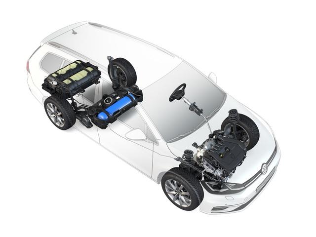 VW Golf Variant TGI - Mehr Leistung und Reichweite
