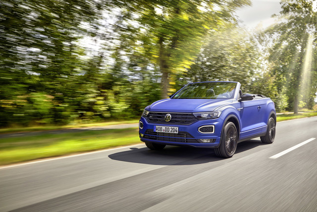 VW T-Roc Edition Blue   - Seltenes Blau