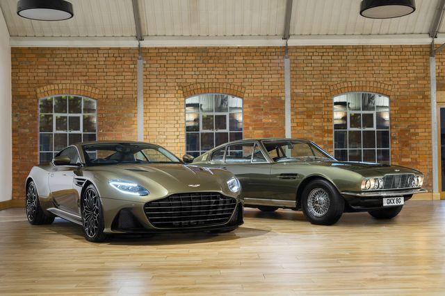 Aston Martin DBS 007-Sondermodell - Bond-Bolide