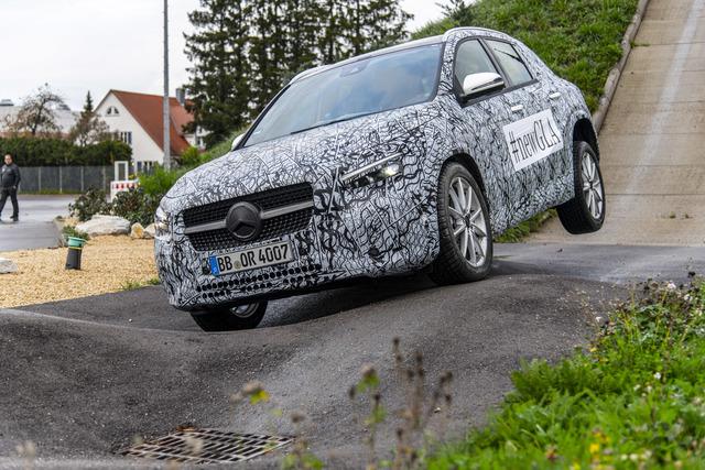 Neuer Mercedes GLA  - SUV zum Schluss