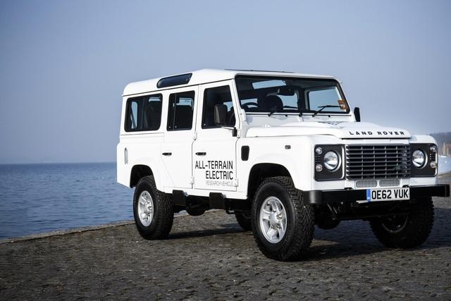 Land Rover Defender Electric - Reine Strom-Sache