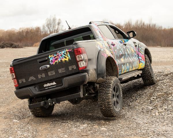 Gepimpter Ford Ranger - Wenn es etwas höher sein soll
