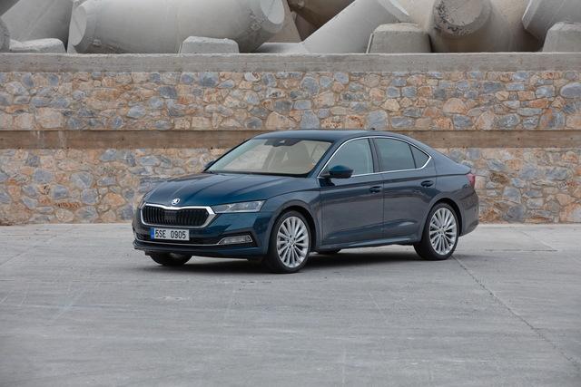 Skoda Octavia Limousine  - Auch mit Stufe schön