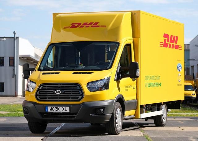 DHL Streetscooter Work XL  - E-Transporter von Ford und Deutscher Post