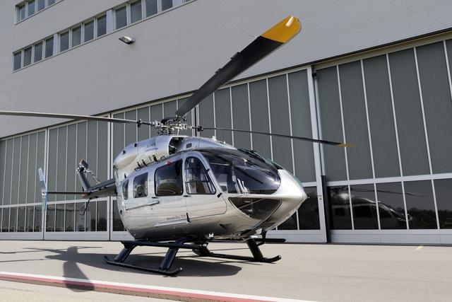 Eurocopter 145 - Der Mercedes der Lüfte