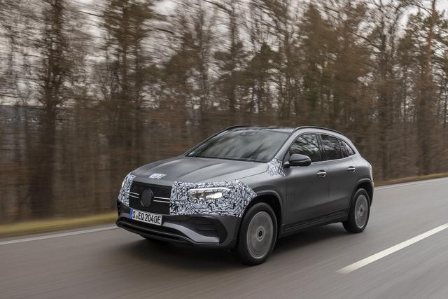 Prototypenfahrt: Mercedes EQA   - Wellenreiter