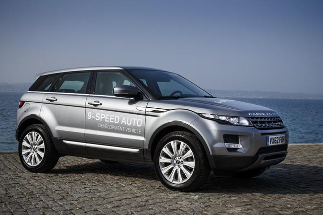 Range Rover Evoque mit Neunstufen-Automatik - Neun ist klug