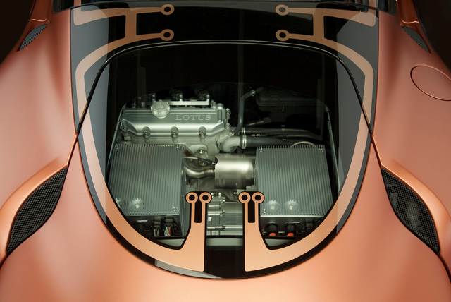 Lotus Evora 414 E Hybrid concept: Es lebe die Simulation